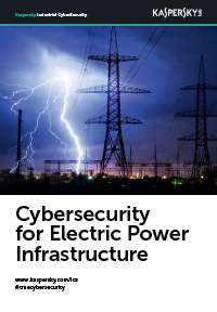 Cybersecurity for Electric Power Infrastructure