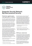 Kaspersky Security Network: Big Data-powered Security