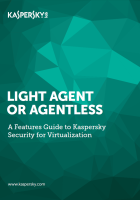 Kaspersky Security for Virtualization - Features Guide